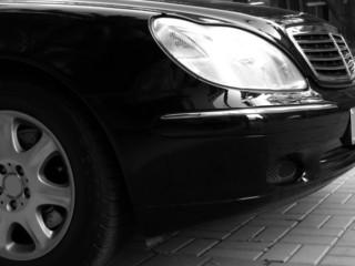 detail of a fancy car