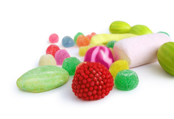 Garden Poster Candy jelly sweets - candies colorfull