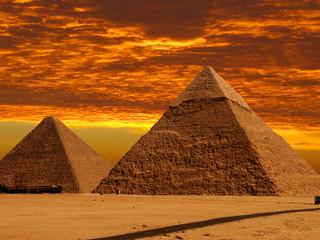 dramatic pyramids