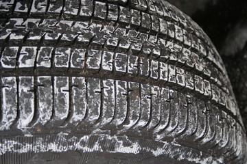 salty tire