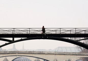france, paris: pont des arts