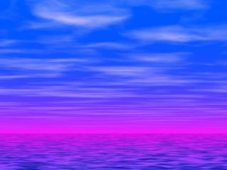 blue sky and sea 2