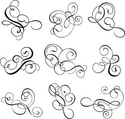 scroll, cartouche, decor