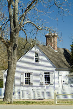 colonial home in williamsburg