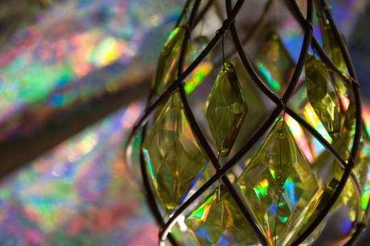 kaleidoscopic glass