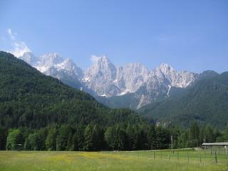 berge von slowenien
