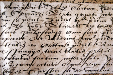 antiguo manuscrito