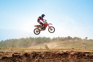 red motocross