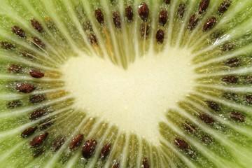 coeur de kiwi