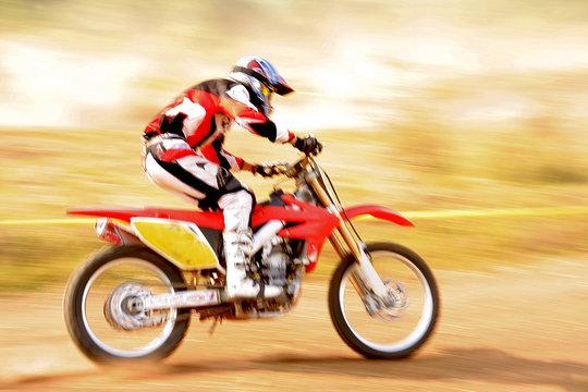 fast motocross