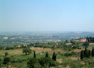 fields outside sarteano