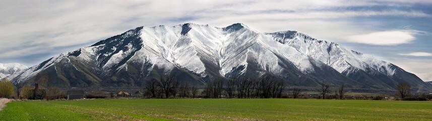 Aluminium Prints Mountains maple mountain