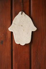 hamsa hand amulet, used to ward off the evil eye i