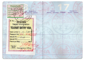 passport tourist visa