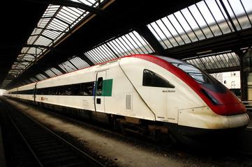 switzerland, zurich: railway station