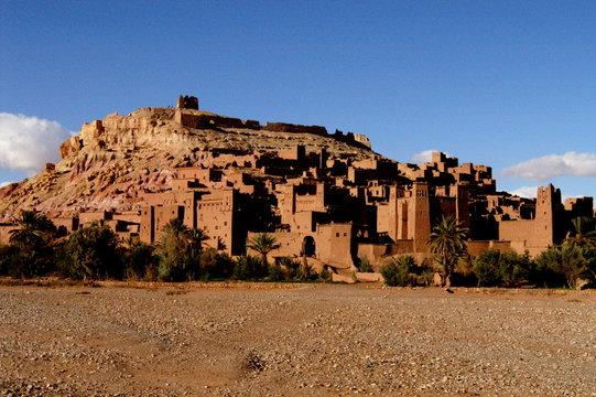 le village d'aït benhadou (1)