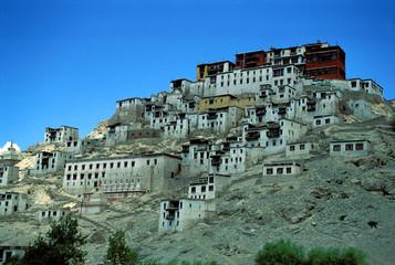 temple tibétain dans le nord de l'inde