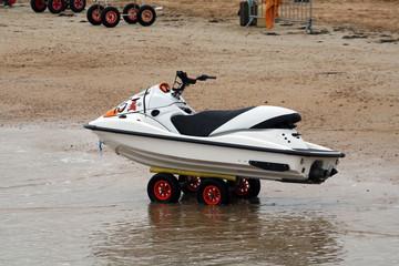 Printed roller blinds Water Motor sports jet ski sur roue