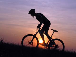 Foto op Canvas Fietsen cycling