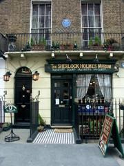 backer street - sherlock holmes - museum