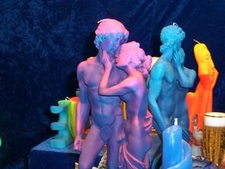 skulptur kerzen