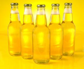 yellow bottles