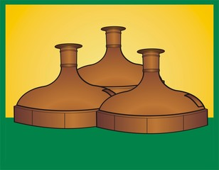 3 beer vats icon