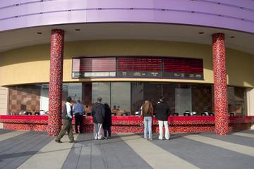 theater ticket area