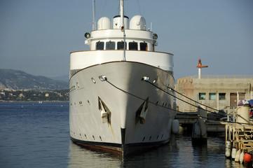 yacht at quay 1