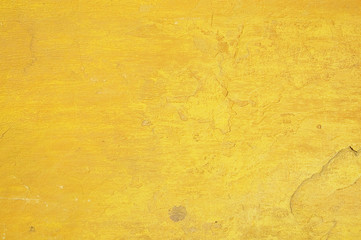 yellow wall texture - perfect grunge background with space for t