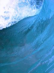Autocollant pour porte Eau blue wave