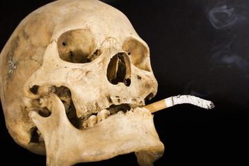 smoking kills (top view)