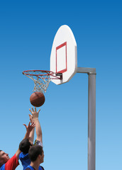 basketball players - sport competition
