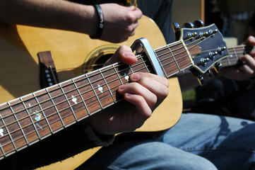 acoustic guitar musicians