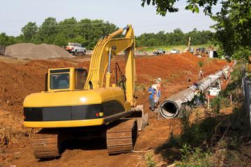 digging pipeline