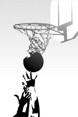 competition in sports - basketball