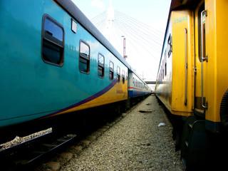 Fototapeta johannesburg train