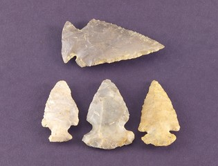 four arrowheads