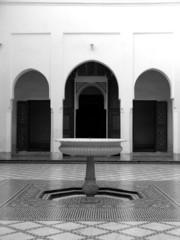 moroccon courtyard