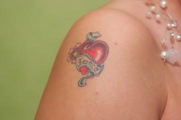 tatoo mariage