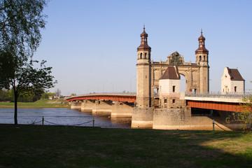 """lithuania - russia"" border bridge"