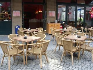 Gastronomie / Straßencafe