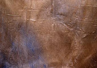 bronze grunge texture