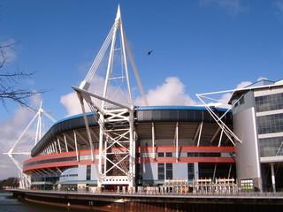 Photo sur Aluminium Stade de football millennium stadium in cardiff, wales