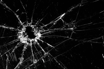 Obraz broken glass - fototapety do salonu