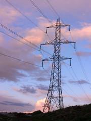 pylon at dusk 1