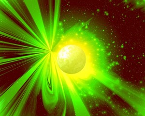 light of a novel yellow planet