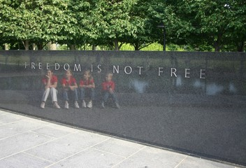 children remeber the cost of freedom