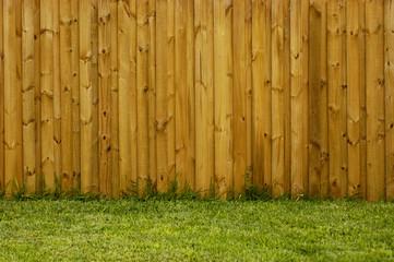 new fence horizontal