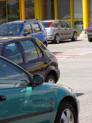 autos beim parken
